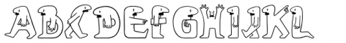 Lolo Font LOWERCASE