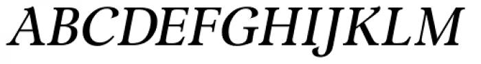 Lomba Medium Italic Font UPPERCASE