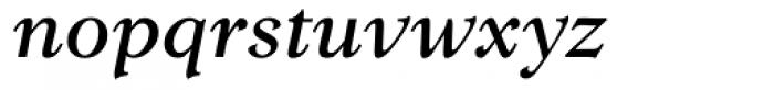 Lomba Medium Italic Font LOWERCASE