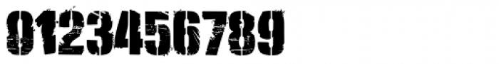 Lomidrevo Stencil Messy Font OTHER CHARS