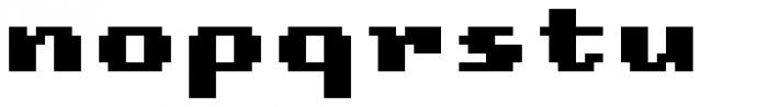 Lomo Copy Std Black Font LOWERCASE