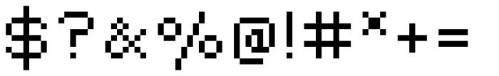 Lomo Copy Std Midi Font OTHER CHARS