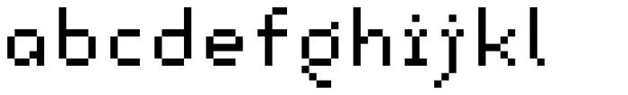 Lomo Copy Std Midi Font LOWERCASE