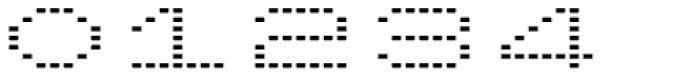 Lomo Wall Dot Std 52 Font OTHER CHARS