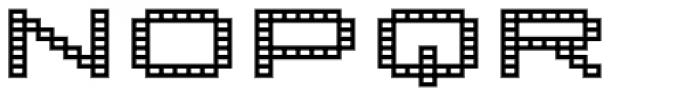 Lomo Wall Grid Std 52 Font UPPERCASE
