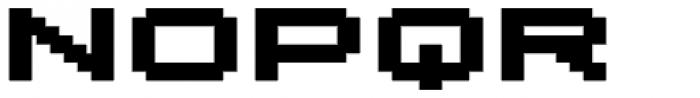 Lomo Wall Pixel Std 100 Font UPPERCASE