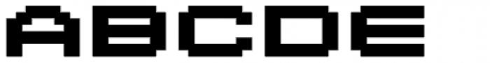 Lomo Wall Pixel Std 100 Font LOWERCASE