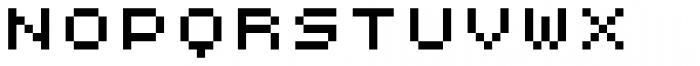 Lomo Web Pixel Std 5 Font UPPERCASE