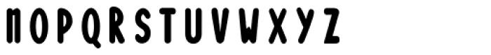 Loncherita Fill Font UPPERCASE