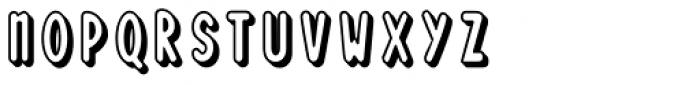 Loncherita Shadow 1 Font UPPERCASE