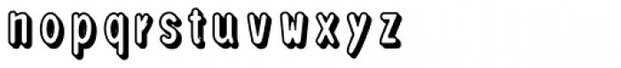 Loncherita Shadow 1 Font LOWERCASE