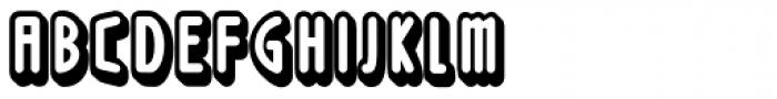 Loncherita Shadow 2 Font UPPERCASE