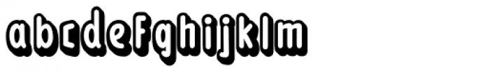 Loncherita Shadow 2 Font LOWERCASE