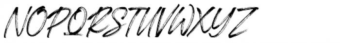 Londoner Italic Font UPPERCASE