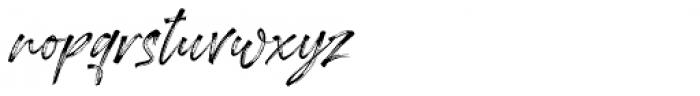 Londoner Italic Font LOWERCASE