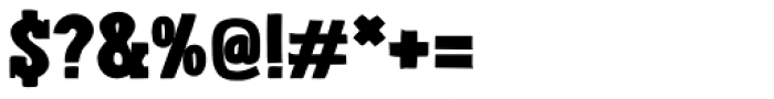 Londrina Black Serif Regular Font OTHER CHARS