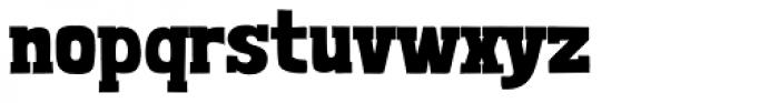 Londrina Black Serif Regular Font LOWERCASE