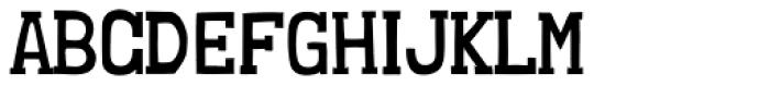 Londrina Book Serif Regular Font UPPERCASE