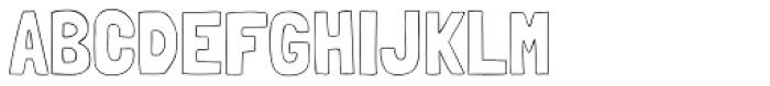 Londrina Outline Font UPPERCASE