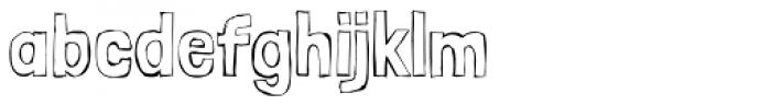 Londrina Sketche Font LOWERCASE