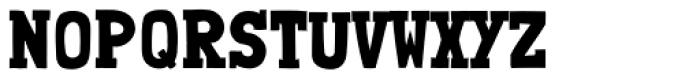 Londrina Solid Serif Regular Font UPPERCASE