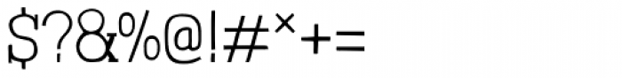 Londrina Thin Serif Regular Font OTHER CHARS