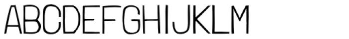 Londrina Thin Font UPPERCASE