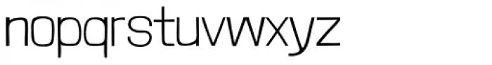 Londrina Thin Font LOWERCASE