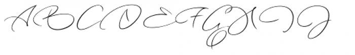 Long Night Font UPPERCASE