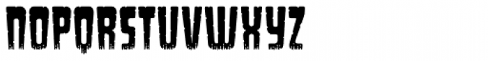 Long Underwear Worn Font UPPERCASE