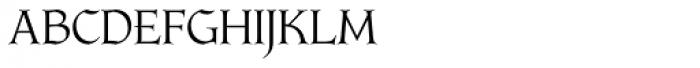 Longa Iberica Regular Font UPPERCASE