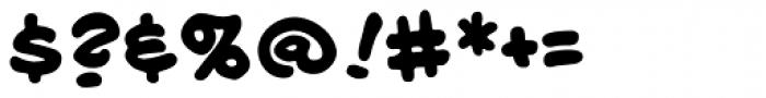 Longbox BB Bold Font OTHER CHARS