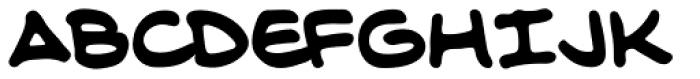 Longbox BB Bold Font LOWERCASE