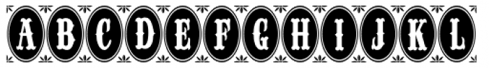 Longbranch Initials JNL Font UPPERCASE