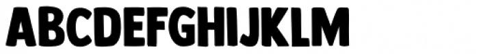 Longreach Font LOWERCASE