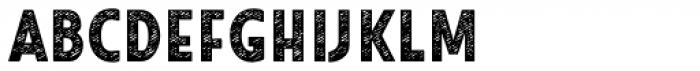 Look Sans Jean Bold Font LOWERCASE
