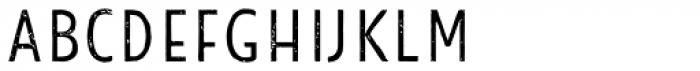 Look Sans Print Light Font LOWERCASE