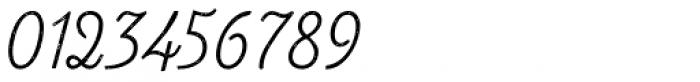Look Script Jean Light Font OTHER CHARS
