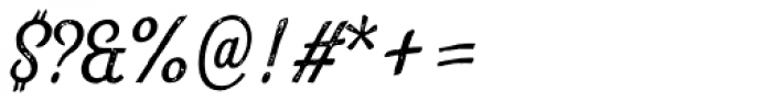Look Script Print Regular Font OTHER CHARS