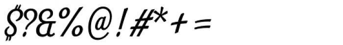 Look Script Regular Font OTHER CHARS