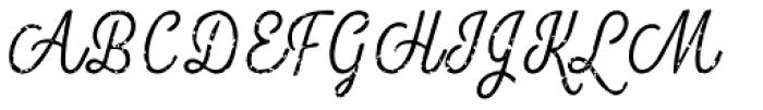 Look Script Rough Light Font UPPERCASE