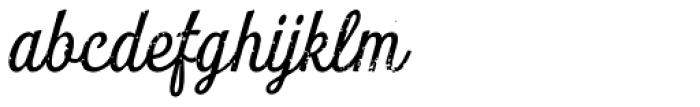 Look Script Rough Regular Font LOWERCASE