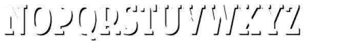 Look Serif Accent Regular Font UPPERCASE