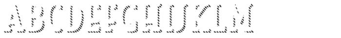 Look Serif Line Light Font UPPERCASE