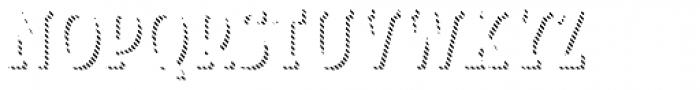 Look Serif Line Regular Font UPPERCASE