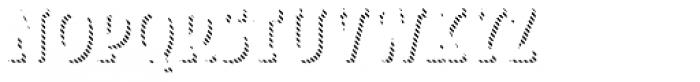 Look Serif Line Regular Font LOWERCASE