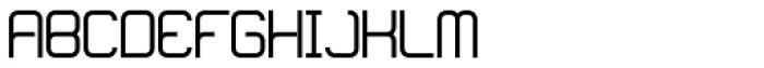 Loop Bold Font UPPERCASE