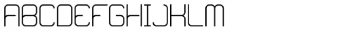 Loop Light Font UPPERCASE