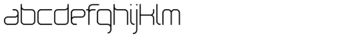 Loop Light Font LOWERCASE