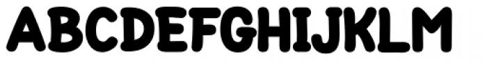 Loose ExtraBlack Font UPPERCASE